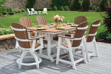 Miller's Mini Barns sells outdoor dining sets