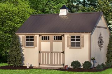 Miller's Mini Barns manufactures and delivers storage sheds