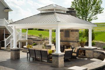 Get your patio pavilion from Miller's Mini Barns