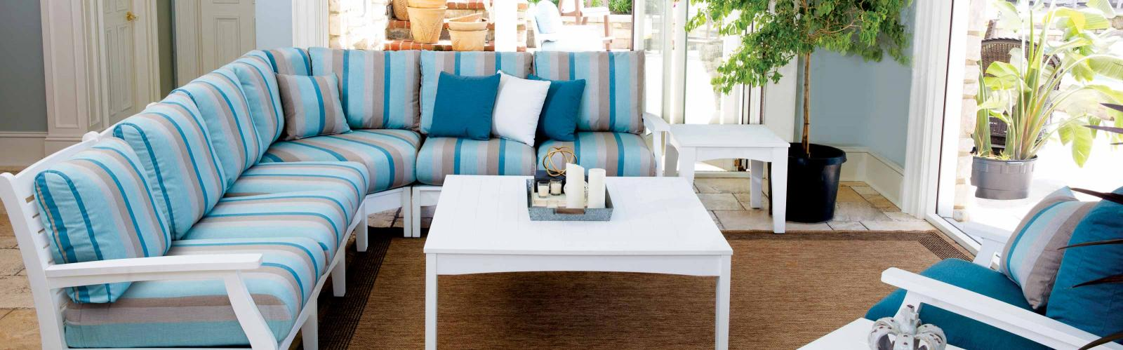 Miller's Mini Barns sells Berlin Gardens poly outdoor furniture