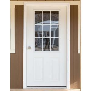 Entry Door With Window