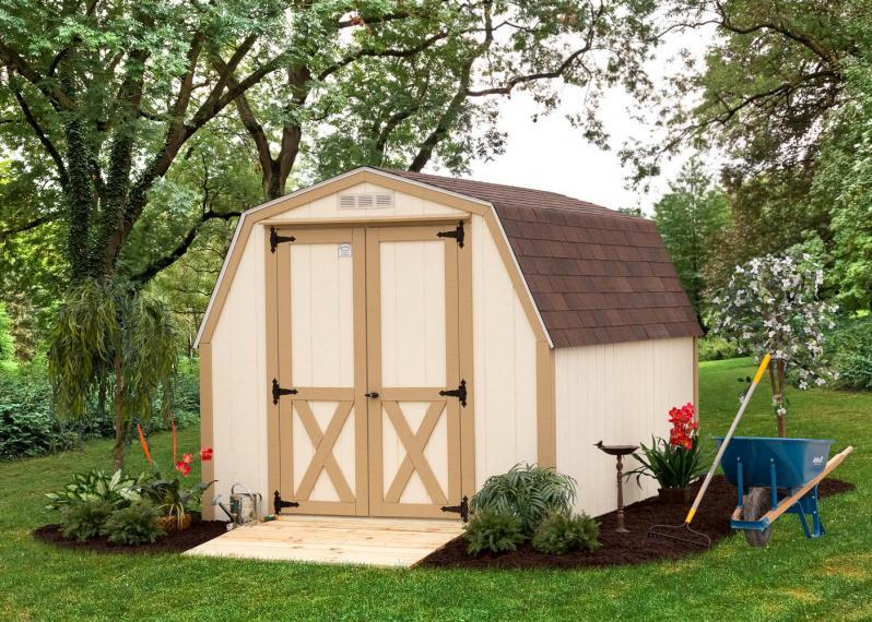 Mini-Barn Shed by Millers Mini Barns