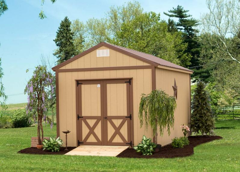 Traditional A Frame Storage Shed