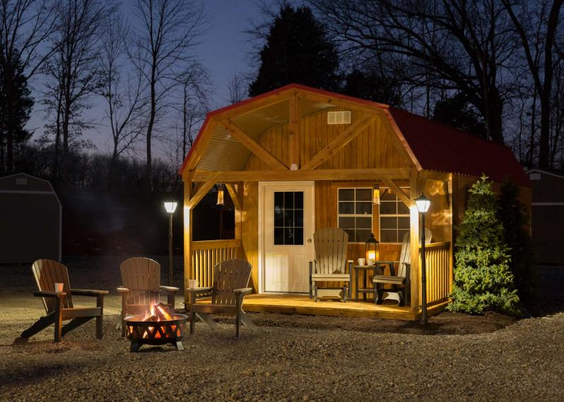 Tool Sheds Cabins : Backyard storage sheds and mini barns