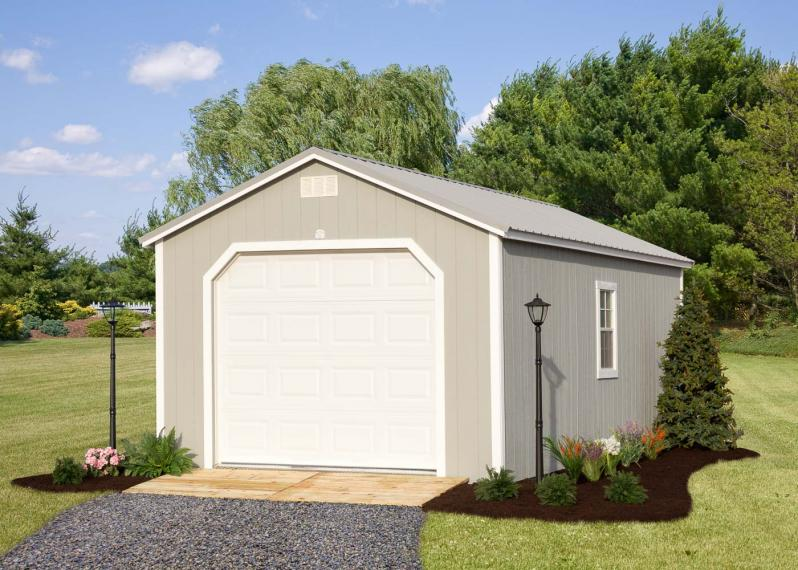 Portable Garage by Millers Mini Barns