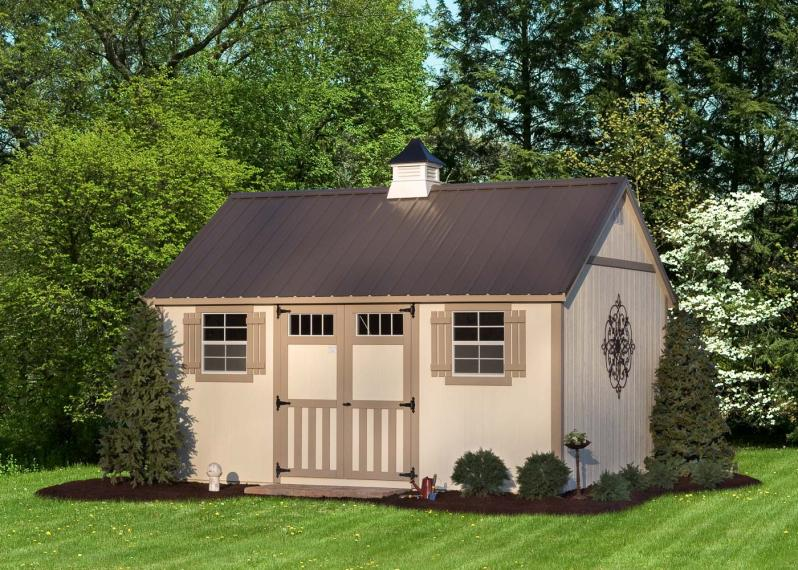 Classic A-Frame Shed by Millers Mini Barns