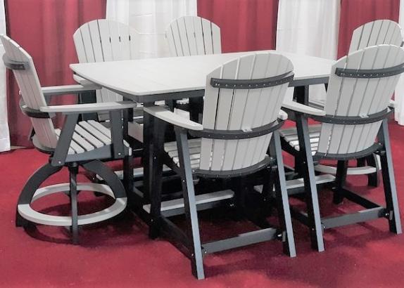 """Garden Classic 44"""" x 72"""" Counter Table"""