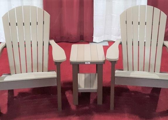 Adirondack Set w/ Rectangle Table