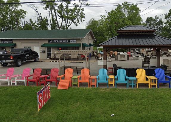 MIller's Mini Barns New Albany location