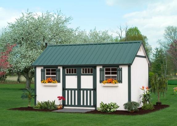 Classic A Frame Garden Shed Millers Mini Barns