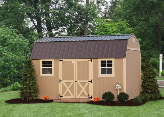 Classic Lofted Garden Barn Millers Mini Barns
