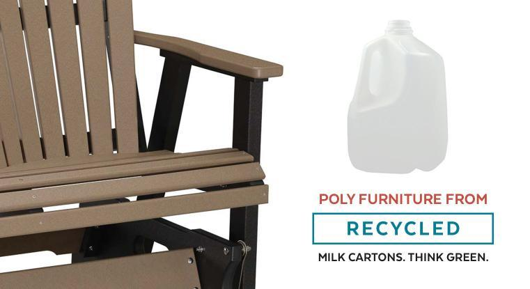 Poly Furniture from Recycled Milk Cartons. Think Green.